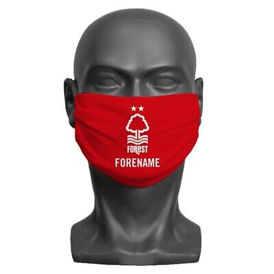 Nottingham Forest F.C - Personalised Adult Face Mask (CREST)