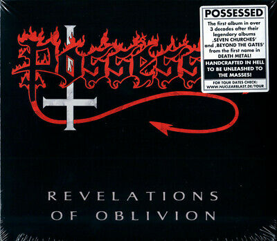 Possessed ‎– Revelations Of Oblivion [New & Sealed] CD
