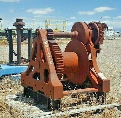 Used Beebe B T 10 Ton Winch #60136