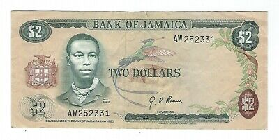 Jamaica - 1960, Two (2) Dollars