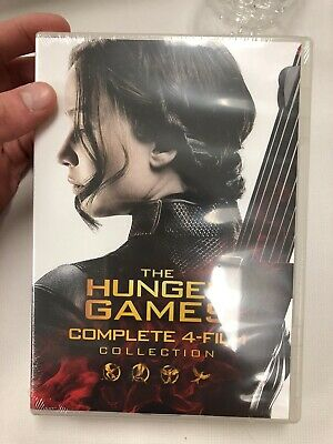 The Hunger Games Collection (DVD, 2016, 4- Disc Set)