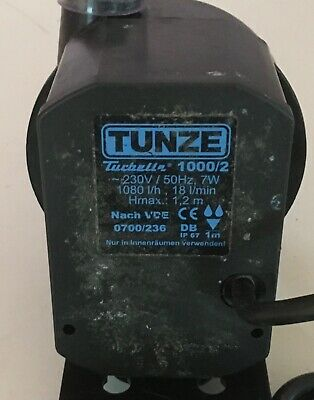 TUNZE Turbelle 1000/2 Aquarium Powerhead Pump 1080 l/h 7W Hmax. 1.2m