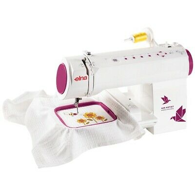 Elna ELAIRARTIST WiFi Enabled Embroidery Machine with 260 Built-In Designs and