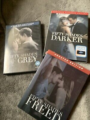 Fifty Shades Of Grey 1-3 Movie Collection Complete Dvd