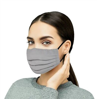Extra Large, 1PC Reusable Cloth Face Mask Washable Cotton Face & Mouth Covering