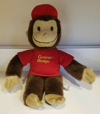 Vintage Curious George Plush Toy