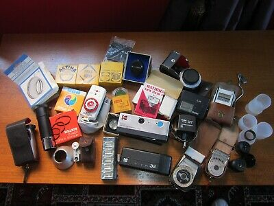 Job lot of vintage photographic related items