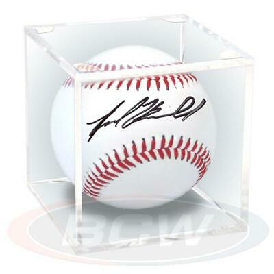 1 BallQube Baseball Holder Display Cases For Autographs Clear Plastic No Cradle