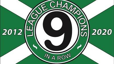 celtic nine in a row pin badge