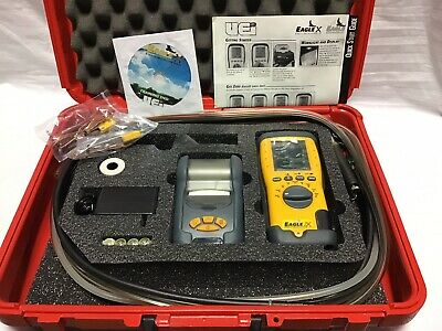 UEi C155 Eagle 2X Combustion Analyzer Kit with Printer + Case