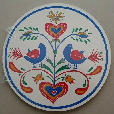 """8/"""" Song Birds Hex Sign Crafted by Conestoga Made in the USA"""