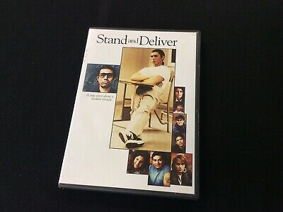 Stand & Deliver DVD Lou Diamon Phillips / Edward James Olmos 1988