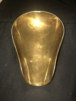 Antique Brass Candy Scale Scoop Pan