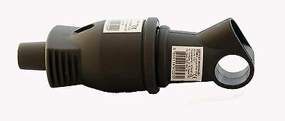 Schuko Rubber Coupling with Cover Cap + Plug with Handle Set 250V- 16A, New