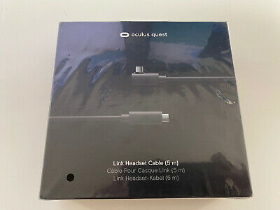 Oculus Link Cable For Quest VR Headset Genuine Original OEM 5m 16ft Brand NEW