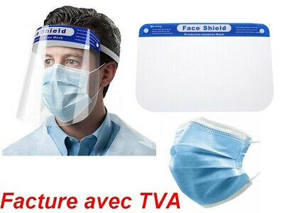 Visor Set Protection Face Anti Projection Postilions Postage From France