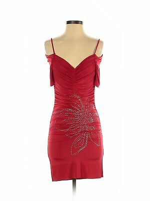Assorted Brands Women Red Cocktail Dress S
