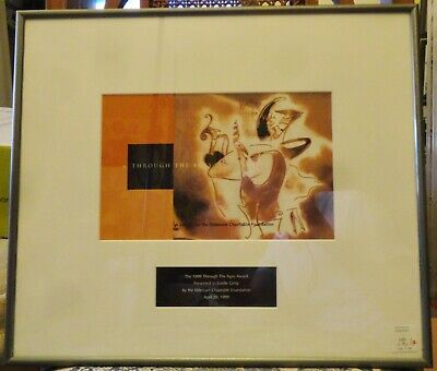 ESTELLE GETTY Award Pictured in Her Home From Her Estate Golden Girls