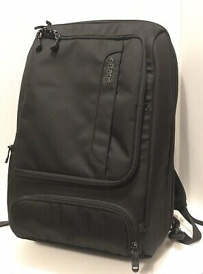 "eBags Professional Slim Laptop Backpack Business Black Carry On. 15.75"" laptop"