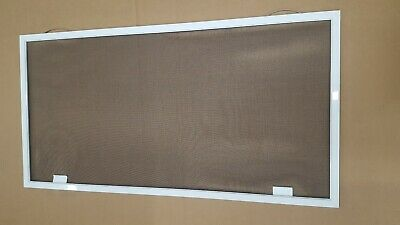 "Heavy Duty custom window screen made up to 36"" x 46"",aluminum frame  5/16"" x 1"""