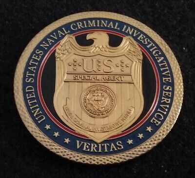 Naval Criminal Investigative Service NCIS USN Navy Police PD Challenge Coin