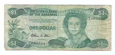 Bahamas - One (1) Dollar, 1974.  !!Replacement!!