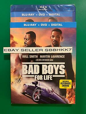 Bad Boys for Life Blu-ray + DVD + Digital HD &Slipcover REGION ABC New!