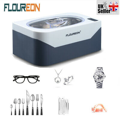 Professional 400ml Ultrasonic Cleaner Polishing Jewelry Timer for Glasses Watch