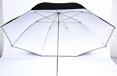 "Promaster Professional 45"" Umbrella Black and Silver"