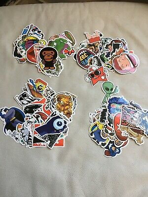 25 Novelty Stickers Ideal For Project Or Random Use
