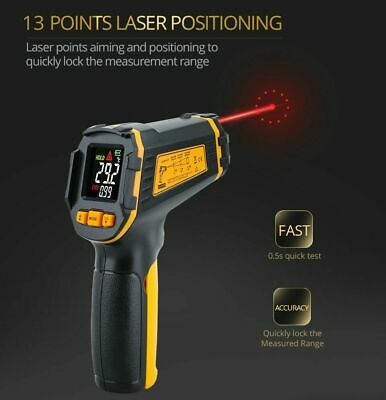 Digital Infrared Thermometer Non Contact IR LCD Temperature Infrared Meter Gun