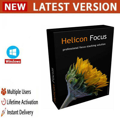 Helicon Focus Pro 7.5 ✔️2020✔️Full Version✔️Lifetime Licence key ✔️Windows✔️