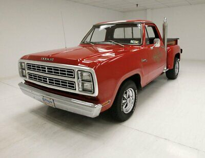 1979 Dodge Lil' Red Express  360ci V8 4 BBL/62K Original Miles/Medium Canyon Red/Big Rig Exhaust Stacks