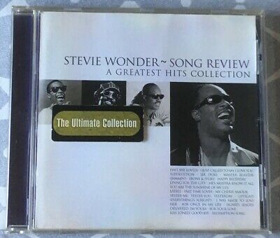 Stevie Wonder - Song Review (A Greatest Hits Collection, 1998) - CD Album