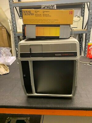 35mm slide projector and viewer  Telex Caramate 4000  with carry case