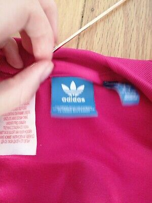 GIRLS ADIDAS ORIGINALS 13-14 Years hot  PINK TRACKSUIT JACKET BOMBER TOP