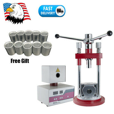Manual Dental Lab Flexible Denture Injection System Press Machine Equipment 400W