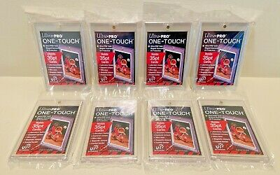 8x Ultra Pro One-Touch Magnetic Card Holders 35pt - FACTORY SEALED - 35 PT POINT