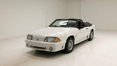 1988 Ford Mustang GT Convertible  13,586 Original Miles/5.0 Liter V8 Supercharged/Super Straight Panels