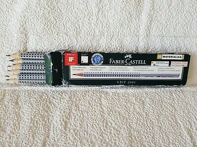 Faber-Castell Blacklead Pencil GRIP 2001 HB Pack Of 12 new in box.