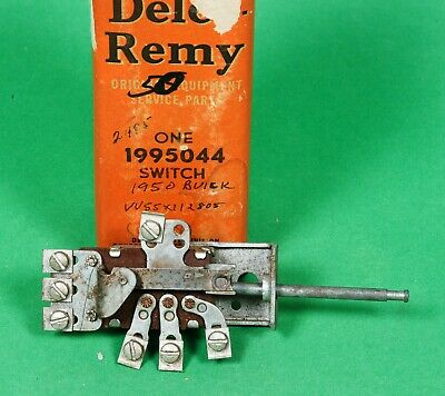 1950 Buick (early) Light Switch P/N 1995044 NOS