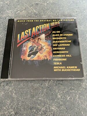 Last Action Hero Soundtrack CD Canada Label - Ships Fast