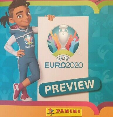 Panini Uefa Euro 2020 Preview Stickers Eur 1 - Eng 28 Single Stickers