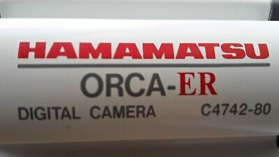 Hamamatsu Photonics ORCA-ER CCD Camera & Controller Unit, Model Type: C4742