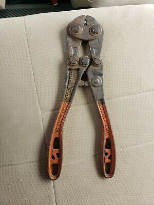 Vintage Nicopress Sleeve Tool 31-QC The National Telephone Supply Company Pliers
