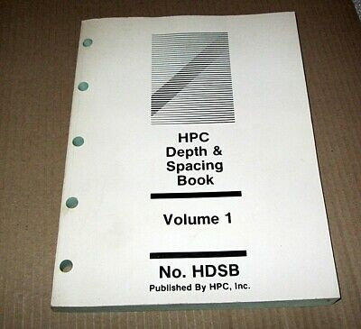 HPC Depth & Spacing Book - Volume 1
