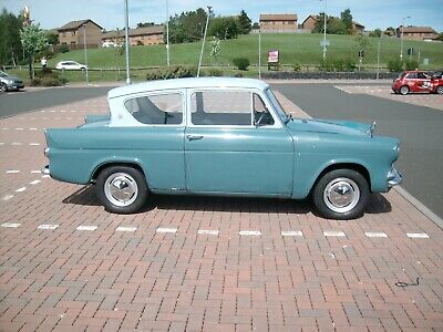 Ford Anglia 105E Delux,1960,27,200 miles,3 previous owners Mostly original.Solid