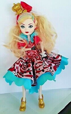 """Monster High Ever After High Apple White Doll Way To Wonderland 2012 - 11 1/2"""""""