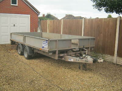 Ifor Williams Dropside Flatbed Trailer 14Ft Long Lm146G