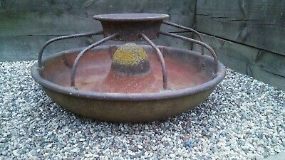 Vintage Mexican Hat Cast Iron Pig Trough/Planter